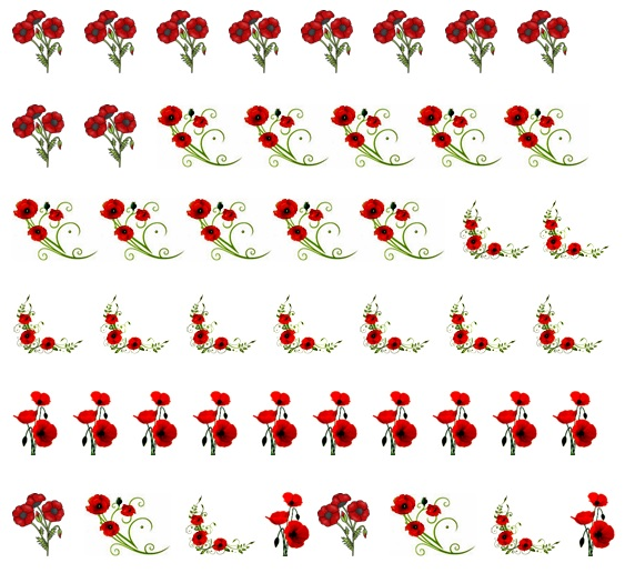 Poppy Code 2 Nail Decals