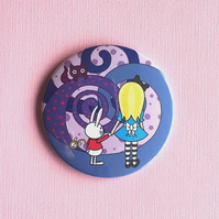 Alice in Wonderland Cute Pocket Mirror
