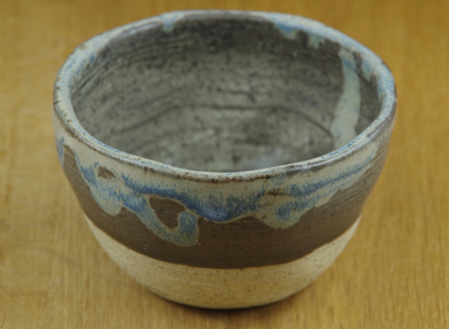 Ceramic Bowl Handmade in Stoneware, Pottery Bowl, Cereal Bowl, Rice Bowl