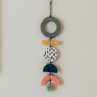 Ceramic modern wall hanging