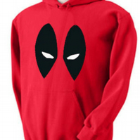 Deadpool Eyes, Marvel, ,Hoodie,80% Cotton,20% polyester Men's, Wome