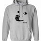 Dog WOW Face   ,Hoodie,80% Cotton,20% polyester Men's, Wome