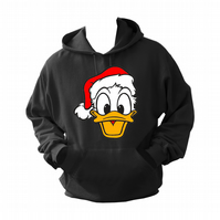 Donald's Ducks Christmas ,  ,Hoodie,80% Cotton,20% polyester Men's, Wome