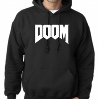 DOOM, The Game  ,Hoodie,80% Cotton,20% polyester Men's, Wome
