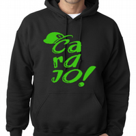 CARAJO - Fernanfloo youtube Logo  ,Hoodie,80% Cotton,20% polyester Men's, Wome