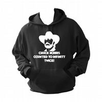 Chuck Norris, Infinity,   ,Hoodie,80% Cotton,20% polyester Men's, Wome