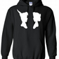 Perter Pan And Wendy1 ,,Hoodie,80% Cotton,20% polyester Men's, Wome