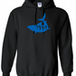 Tiger Shark ,Hoodie,80% Cotton,20% polyester Men's, Wome