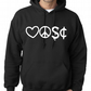 TIMOTHY DELAGHETTO - LPSC ,Hoodie,80% Cotton,20% polyester Men's, Wome
