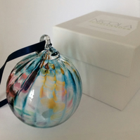 Stunning glass friendship & good luck balls made by Designer Nicola Schellander