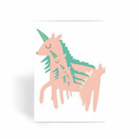 Unicorns Card