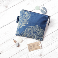 Hand Printed Accessories Bag