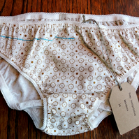 hemp handprinted knickers