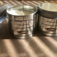 Coconut Island Fragrance Candle