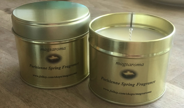 Parisienne Spring Fragrance Candle