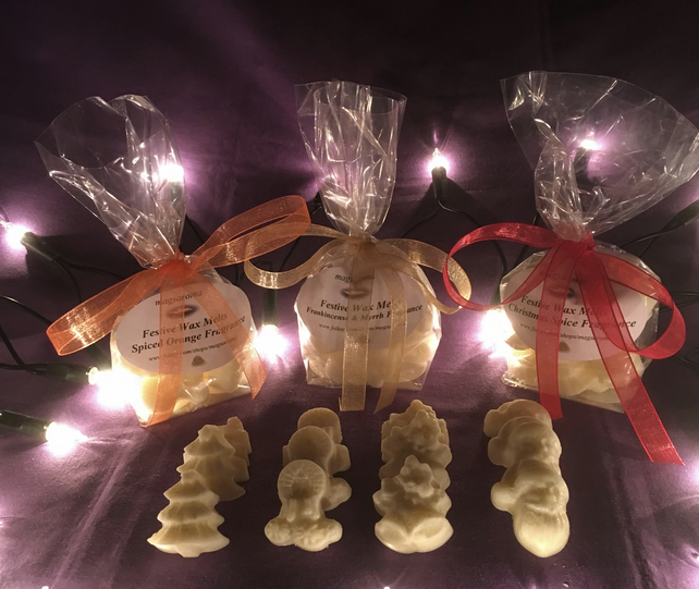 12 Festive Christmas Spice Wax Melts