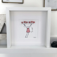 fly high (can be personalised)