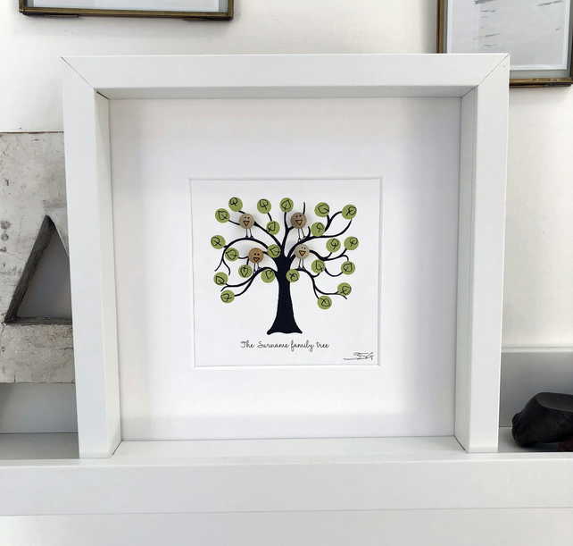 our family tree - personalised gift