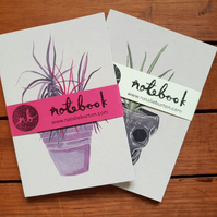 Pack of 2 Plant Notebooks A6 Recycled