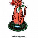 Purrfect Christmas Card
