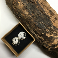 Chemigram Leaf Cufflinks (7)