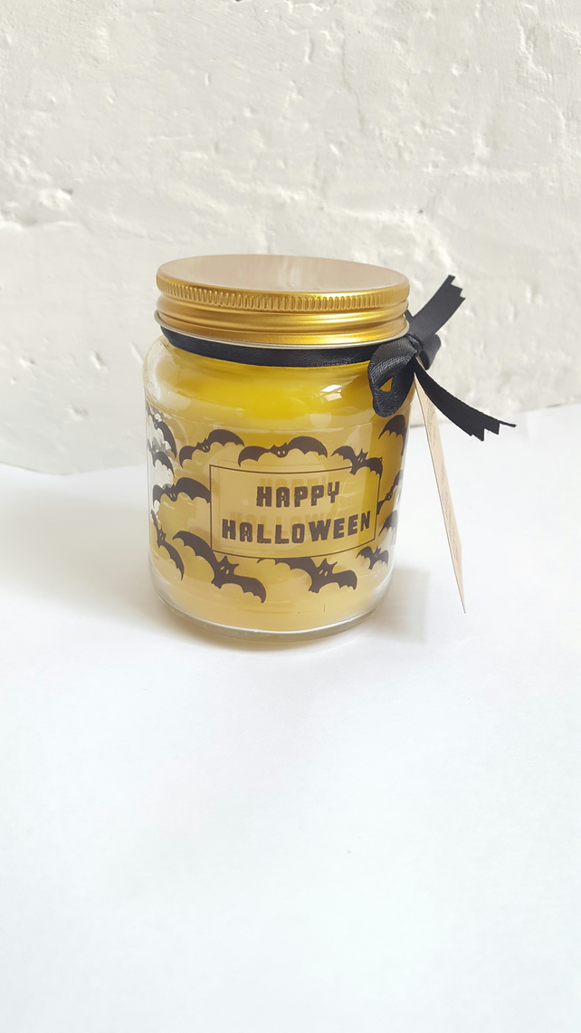 Happy Halloween - Halloween Night - Halloween Party - Candle