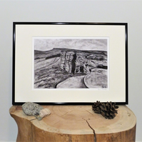 Stanage, Unframed Giclee Print, A4