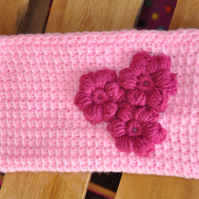 SALE HALF PRICE Crochet zipper pouch