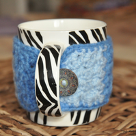 SALE HALF PRICE Blue cup cozy