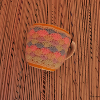 SALE HALF PRICE Rainbow cup cozy