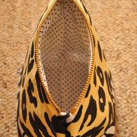 SALE HALF PRICE Animal print pouch