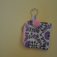 SALE HALF PRICE Coin purse with key ring