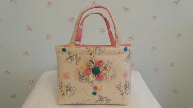 """Peter Rabbit"" little girls bag"