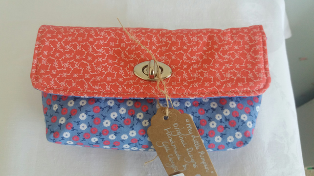Spring and summer clutch purse