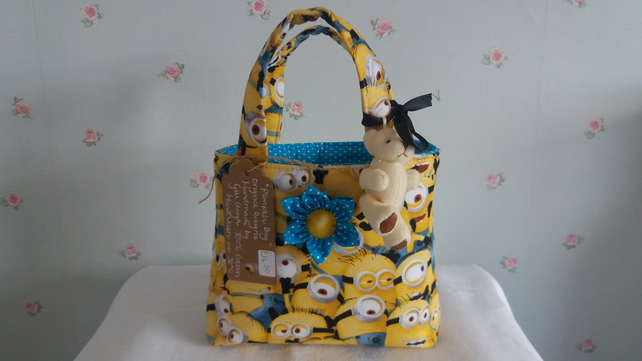 "Little girls ""Minions"" bag"
