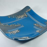 Steel Blue Reactive Dish