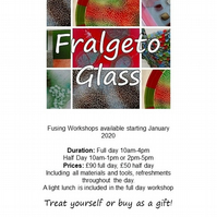 Glass Fusing Workshops - Half Day or Full Day courses