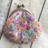 Liberty Print Clasp Coin Purse