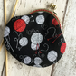 Knitting Themed Fabric Clasp Coin Purse