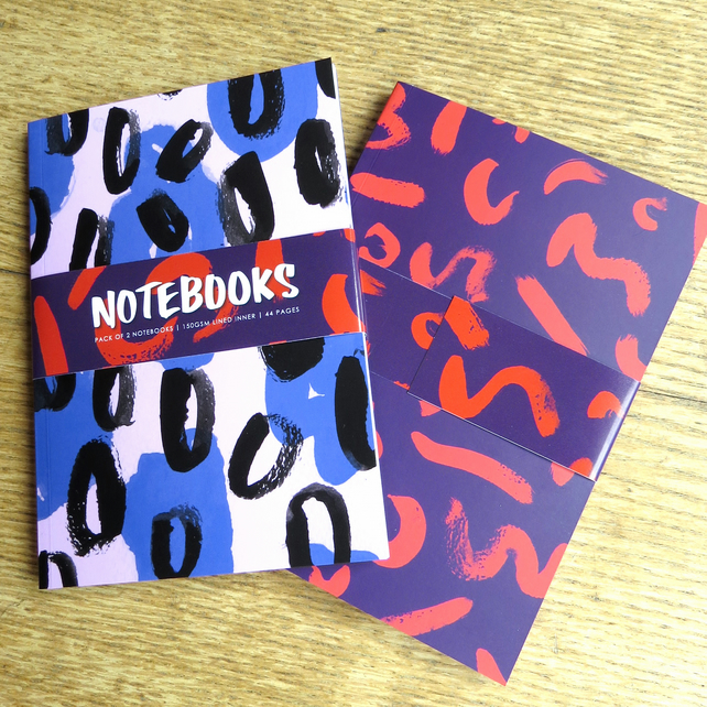 Pack of 2 Notebooks