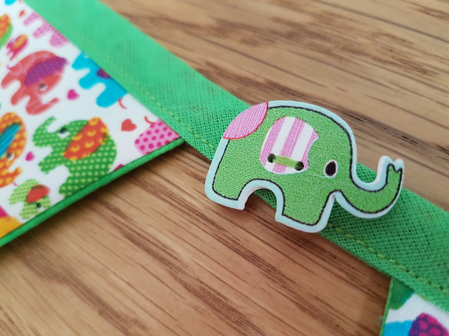Trunk Swinging Elephant Bunting