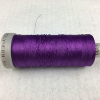 1 x 800m Cop Madeira Polyneon Polyester Colour 1880 Purple Embroidery Thread