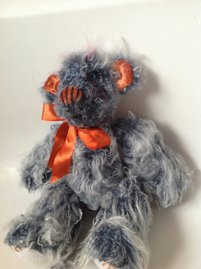 Bumble bear handmade teddy bear