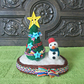 Needle Felted Christmas Tree & Snowman