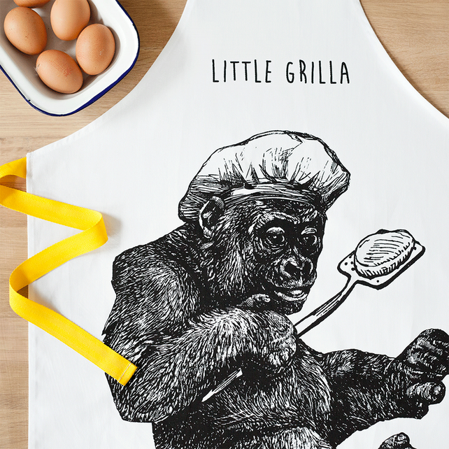 Little Grilla Kids Cooking Apron