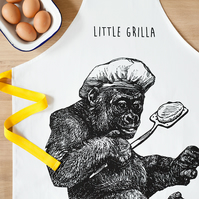 Little Grilla Apron For Kids