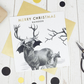 Luxury Christmas card, Raindeer, Xmas cards, funny christmas card