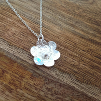 Daisy Necklace, Sterling Silver Jewellery, 925 Daisy Necklace, Floral Necklace
