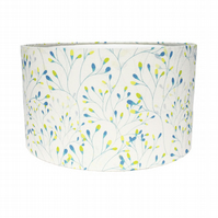 Sea Green Trees 45cm Fabric Lampshade