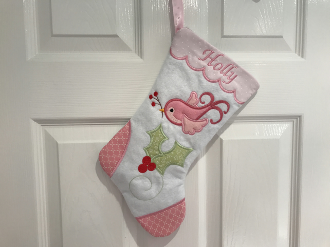 Christmas Stocking baby bespoke